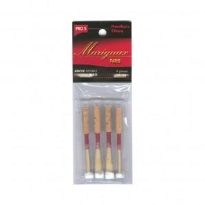 Pack 4 Cañas Oboe profesional Marigaux raspado suave