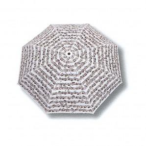 Paraguas PLEGABLE Pentagrama Blanco
