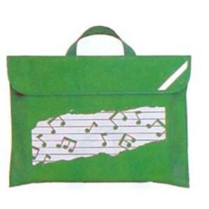 Bolsa de Músico Dúo Verde Pentagrama con