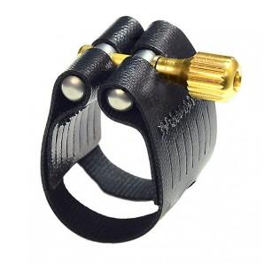 Abrazadera y boquillero saxo alto Rovner Light L6