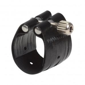Abrazadera y boquillero saxo barítono Rovner Dark 3ML Metal