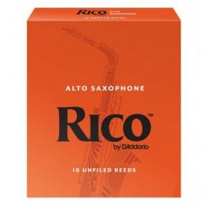 Caja 10 cañas RICO para Saxofón Alto
