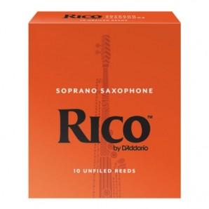 Caja 10 cañas RICO para Saxofón Soprano