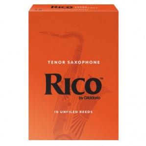 Caja 10 cañas RICO para Saxofón Tenor