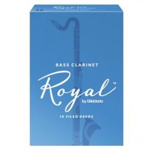 Caja 10 cañas RICO Royal para Clarinete Bajo