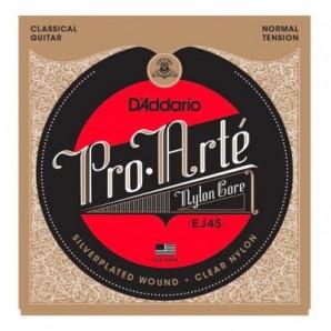 Cuerdas Guitarra D'ADDARIO - EJ45 Pro-Arte Normal Tension