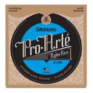 Cuerdas Guitarra D'ADDARIO - EJ46 Pro-Arte Hard Tension