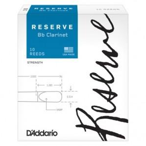 Caja 10 cañas D'ADDARIO Reserve para Clarinete
