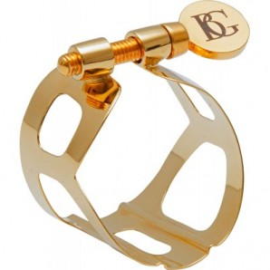 Abrazadera y boquillero saxo barítono BG Tradition L61
