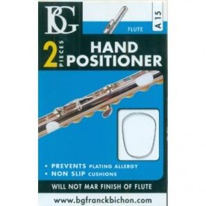 Posicionador dedos BG A15 para flauta