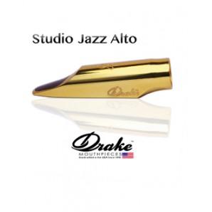 Boquilla DRAKE Studio Jazz Metal 24k para saxofón alto