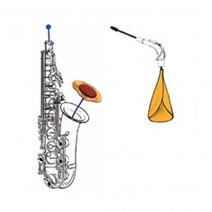 Limpiador Saxo Soprano Reka