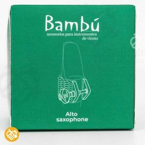 Abrazadera Saxo Alto Bambú NOVA
