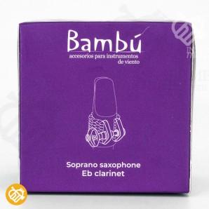 Abrazadera Saxo Soprano/Requinto Bambú NOVA