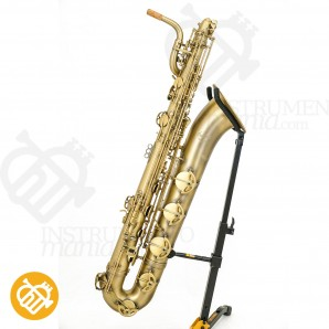 Saxo baritono P.Mauriat PMB-300 (Low A) DK Dark Vintage