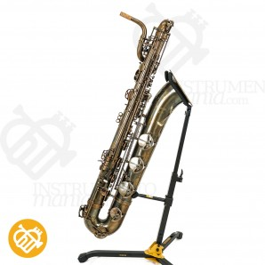 Saxo barítono P.Mauriat PMB-300 (Low A) UL Unlacquered