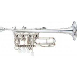 Trompeta Piccolo YAMAHA Cilindros Sib/La YTR-988