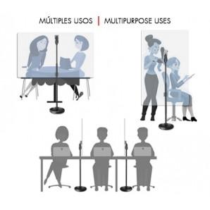 Mampara Protectora Ajustable (2 Posiciones) - GUIL MP-03