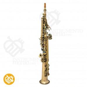 Saxo soprano P.Mauriat 1 pieza System-76 2nd. Edition DK Dark Vintage