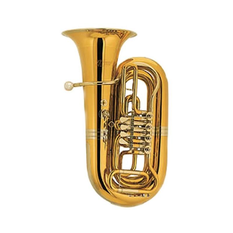 Tuba Si b Cerveny CBB 683-4-PRX-O ARION