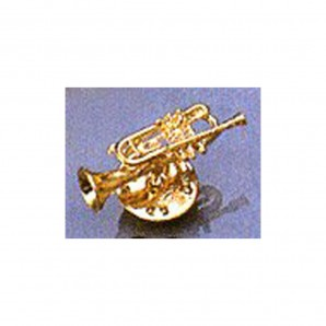 Pin Trompeta Plata