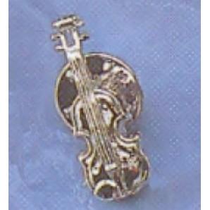 Pin Violín Plata