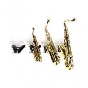 Soporte saxo alto-tenor-soprano curvo FF Fortissimo SS01