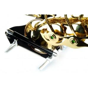 Soporte saxo alto-soprano curvo FF Fortissimo SS02
