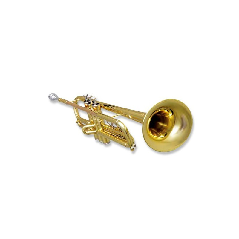 Trompeta Do Fides Primera en do Dorada