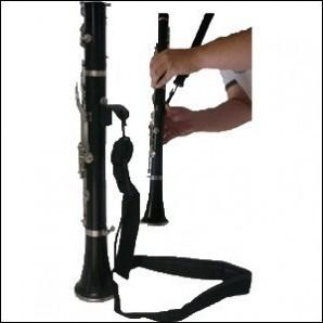 Cordón clarinete Ortola N2521-1 Mosquetón metálico