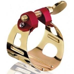 BG- Abrazadera para Saxofón Alto Duo Chapada Oro LD1