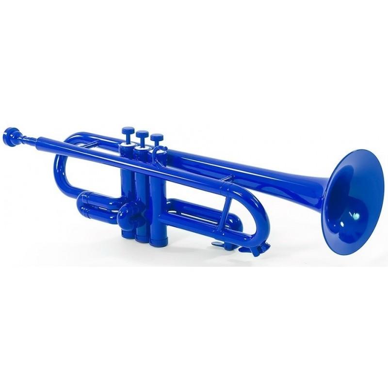 Trompeta de Plástico azul Tromba