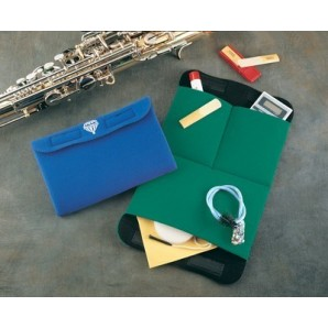 Bolsa Accesorios, Tripack azul, rojo, verde, gris. NEOTECH (afinador, limpiador, grasa) .