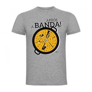Camiseta manga corta Arroz a Banda
