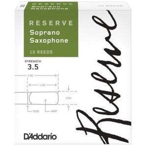 Caja 10 Cañas D'ADDARIO Reserve para Saxo Soprano