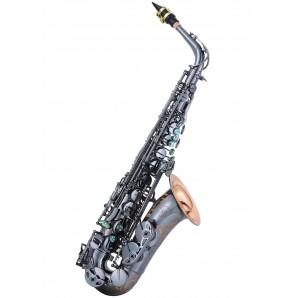 Saxo alto LC A-703 BD Black plated finish 98% cobre