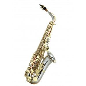 Saxo alto LC A-705 CL 98% cobre y cupronickel llaves vintage