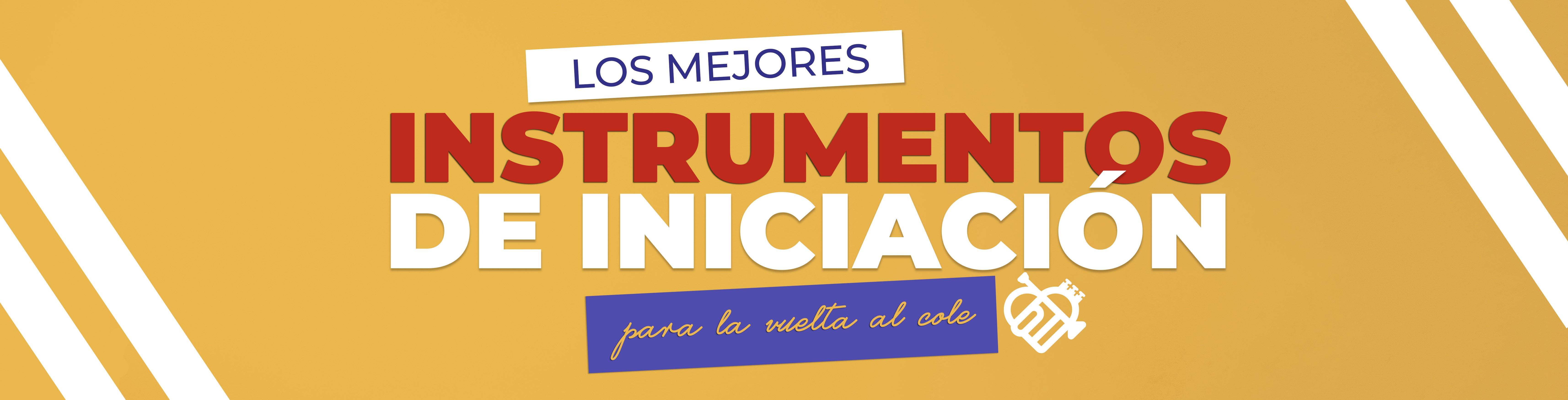 Banner Los mejores Instrumentos iniciaci